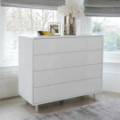 chest of drawers notch wide chest of drawers white KJYHESK