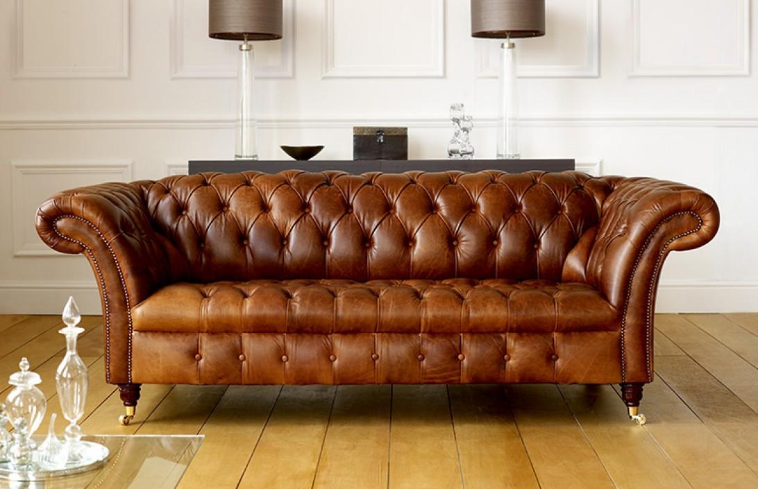 Chesterfield leather sofa Barrington vintage leather sofa    Chesterfield leather sofas UODGHFV