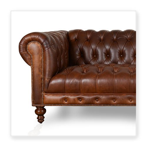 Chesterfield leather sofa Chelsea Chesterfield HRZRDOF