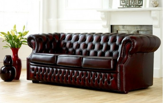 Chesterfield leather sofa Richmond Grand leather sofa XHLTXRJ