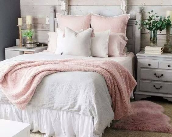50 Postcard Perfect Shabby Chic Bedroom Decoration Ideas That ...