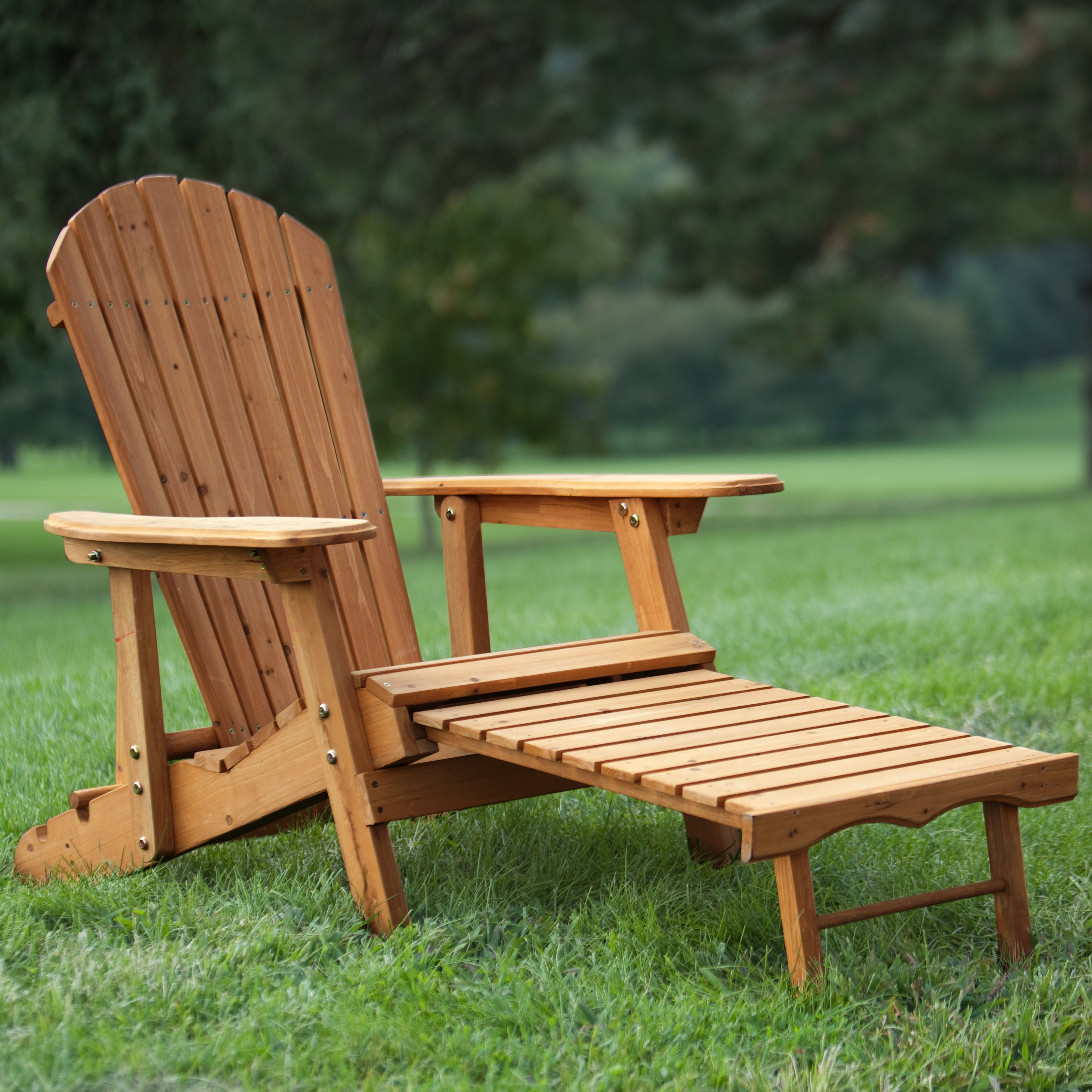 chic outdoor Adirondack chairs Coral coast Big Daddy Reclining tall wooden Adirondack KDVYRCQ
