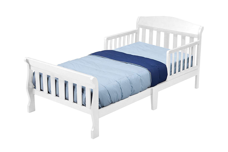 Children's bed amazon.com: delta children canton toddler bed, white: baby JMBVGGS