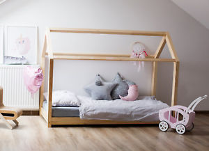 Cot loading image cot-house-without-mattress-29-dimensions-children- ZGVJRSE