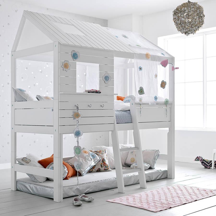 Children's bed silversparkle high hat childrenu0027s tree house bed LLNRHXU