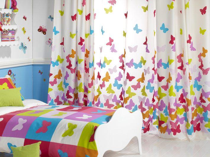 kids curtain great curtain for kids room girl papillon rioma violet room kids MPIODXM