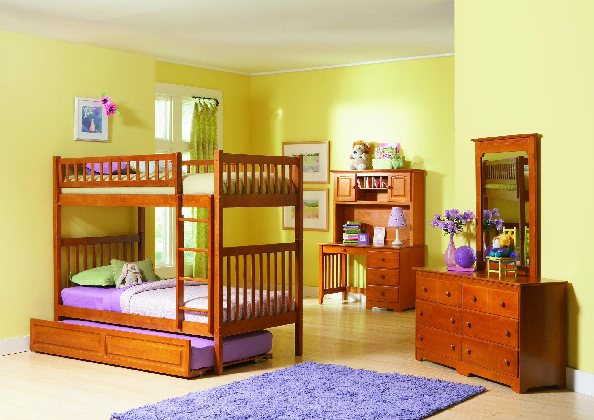 Full size nursery furniture of the bedroom kids white bedroom suite cute little girls bedroom TOKLLAJ