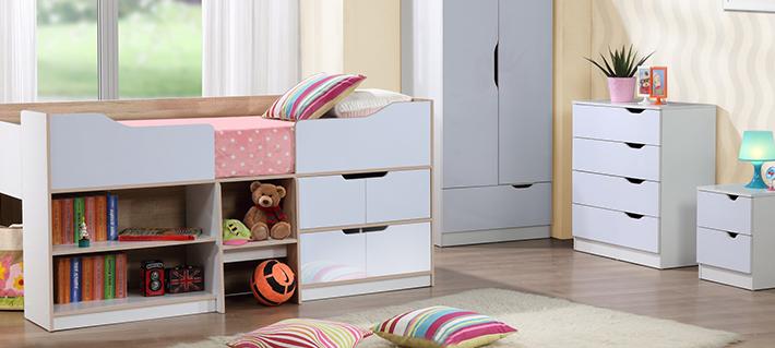 Cots childrenu0027s beds at cousins furniture LXRUDJD