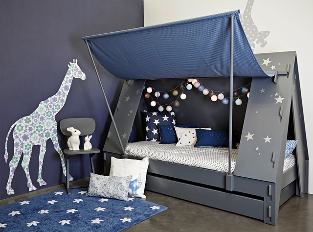 Children's beds completed projects - childrenu0027s beds Contemporary-Kids GWXLHSF