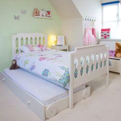 Children's beds sugar & spice bed - gray ORQQTIX