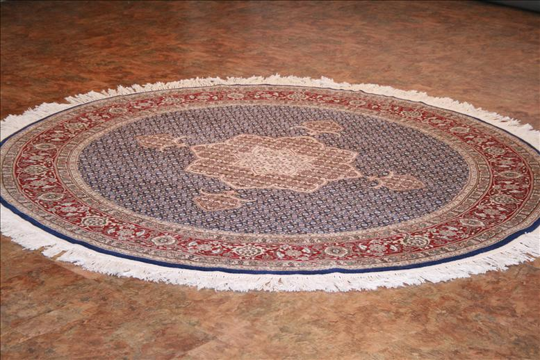 Round carpets 147 Chinese Persian carpets - this traditional carpet is approx. 6 DLUMVXZ