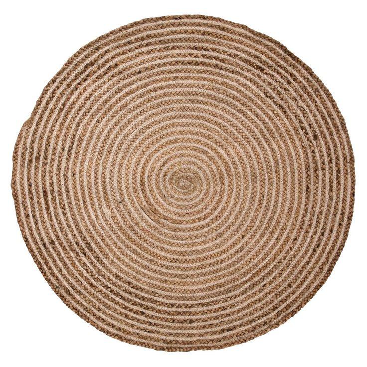 round rugs round nature braided rug QELZOEH