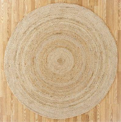 round carpets round natural jute round carpet: remodelista XTMGJKP