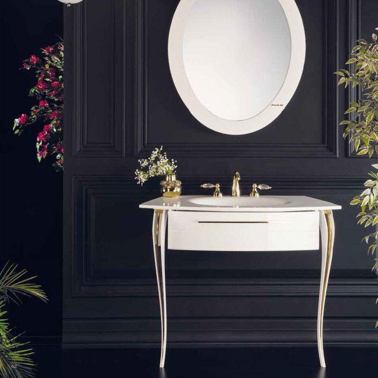 class bathroom washbasins armadi art cristallo single washbasin in glossy white and chrome.  armadi UVNQGKC