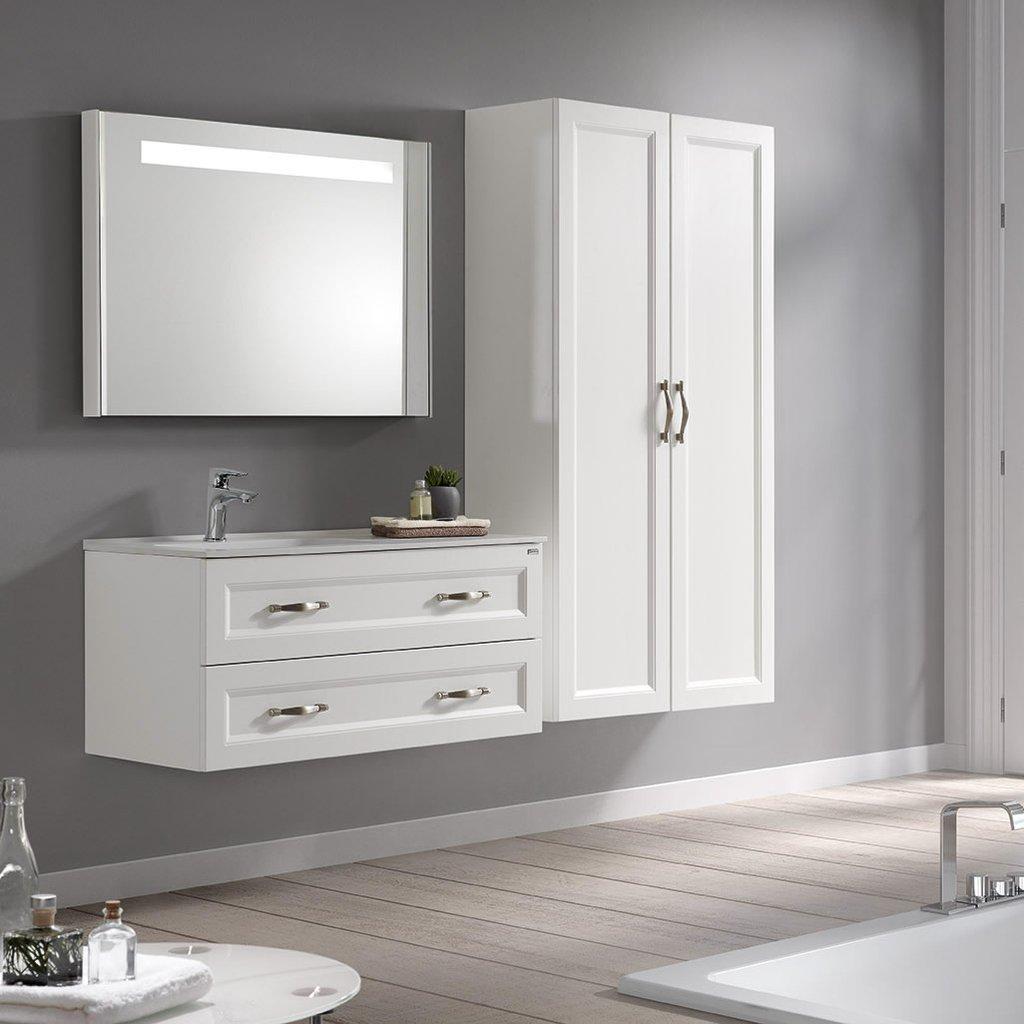 class bathroom vanities valenzuela class 48 inch led backlit bathroom bathroom vanity mirror, - dax DZVQWYE