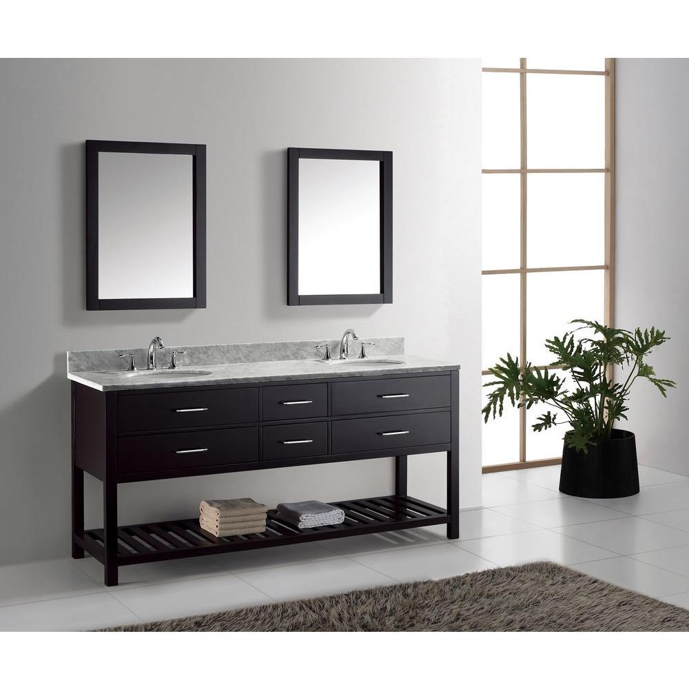 great bathroom washbasins virtu usa caroline estate 72 HYTZNOW