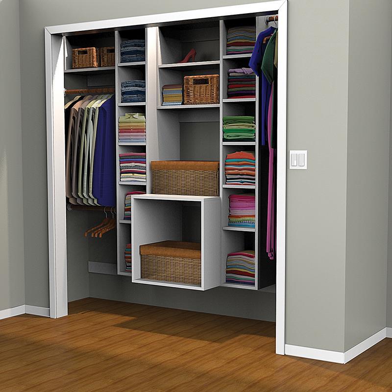 Closet organizer - printed plan PLWRSIG