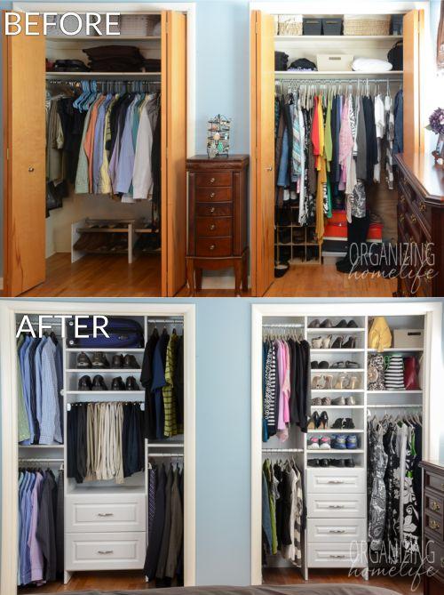 Closet Organized $ 1,000 easyclosets Organized Closet Giveaway |  pinterest |  Bedroom closet, MXKIHFO