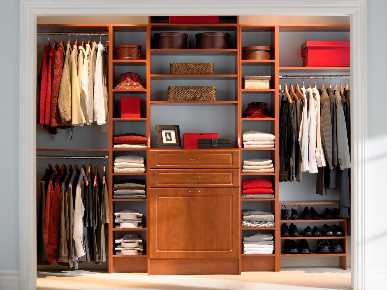 Cabinet systems Main cabinet in warm colors JCEZANQ