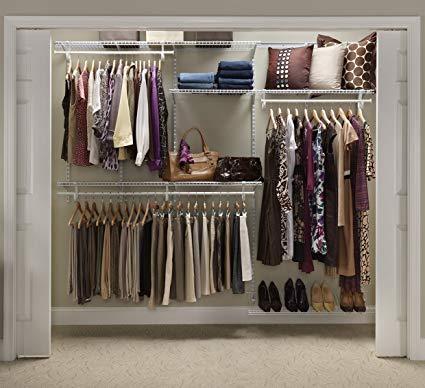 Cabinet Maid 22875 Shelf Rail 5ft.  up to 8ft.  adjustable cabinet organizer set, white ISFOCDD