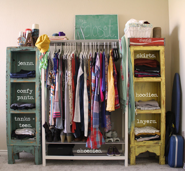 Clothes storage Sara Silver home design, home projectsOrganization, storage DOLNVYO