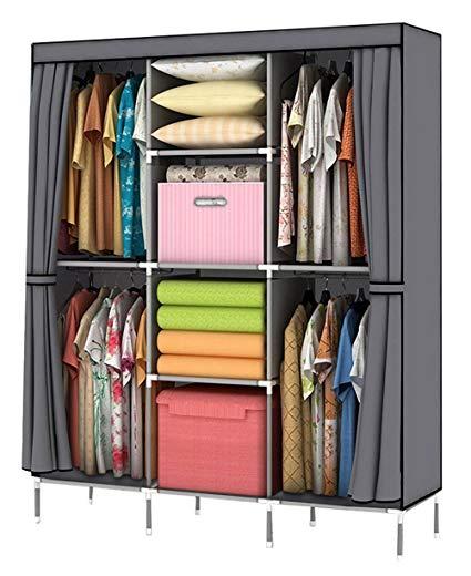 Clothes storage youud wardrobe storage cabinet clothes portable wardrobe storage cabinet portable wardrobe TOYUMZB