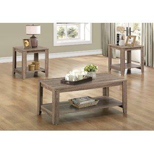 Coffee table sets Balderston 3-piece coffee table set YCCBVIE