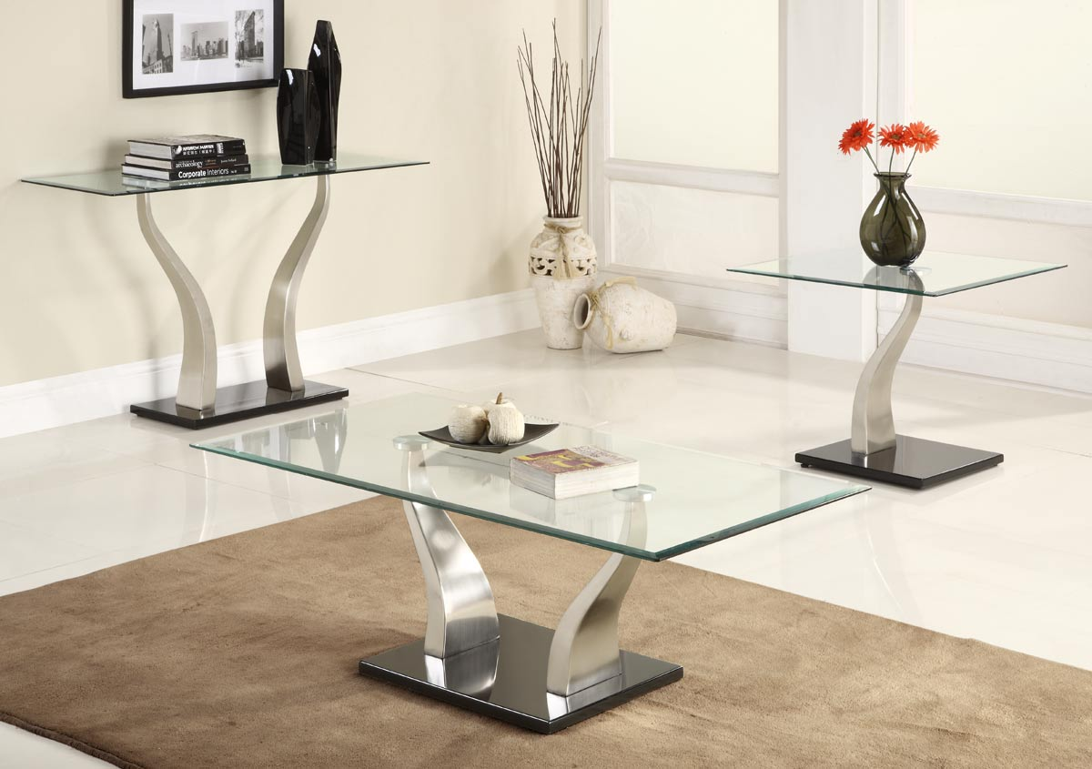 Coffee table sets Homelegance Atkins Occasionals coffee table set YDGSPMN