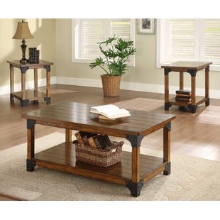 Coffee table sets William 3-piece coffee table set EECBORF