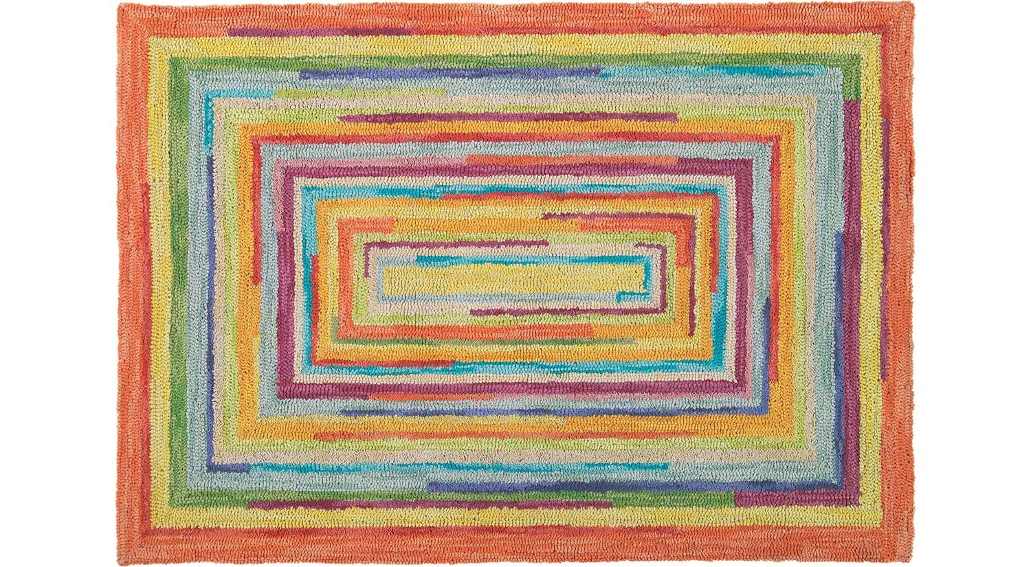 colorful rugs concentric square rugs concentric ... OFBUSFU