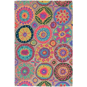 colorful carpets Merry Go Round light micro hook wool carpet WEKTKMX
