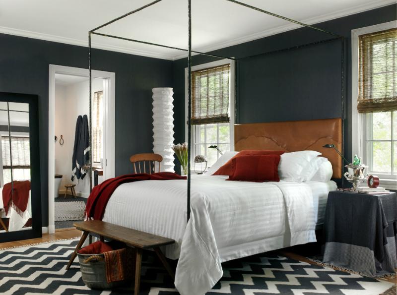 Bedroom color schemes dark gray with brown bedroom color scheme POCTUTE
