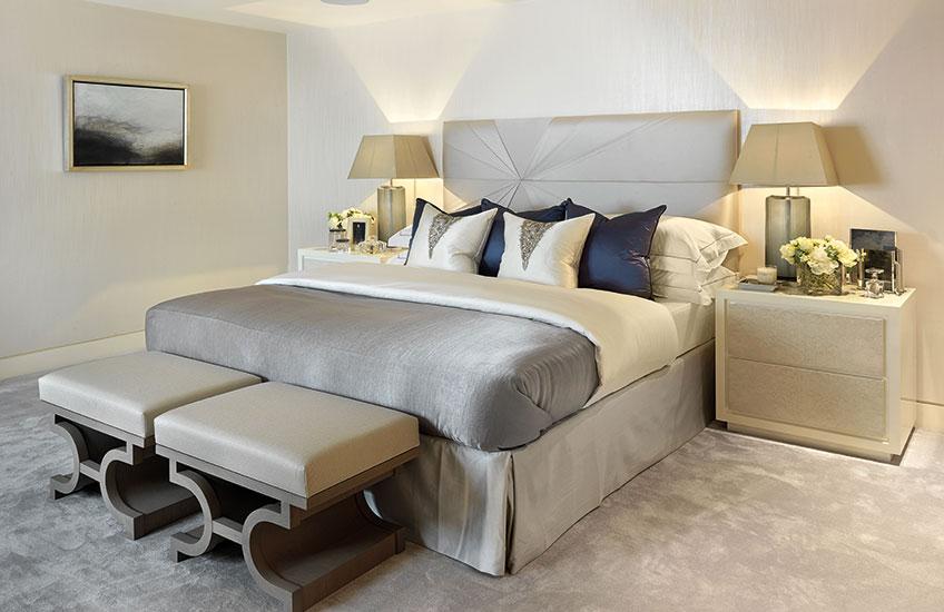 Color schemes of the bedrooms Luxdeco Styleguide GPAMXCS