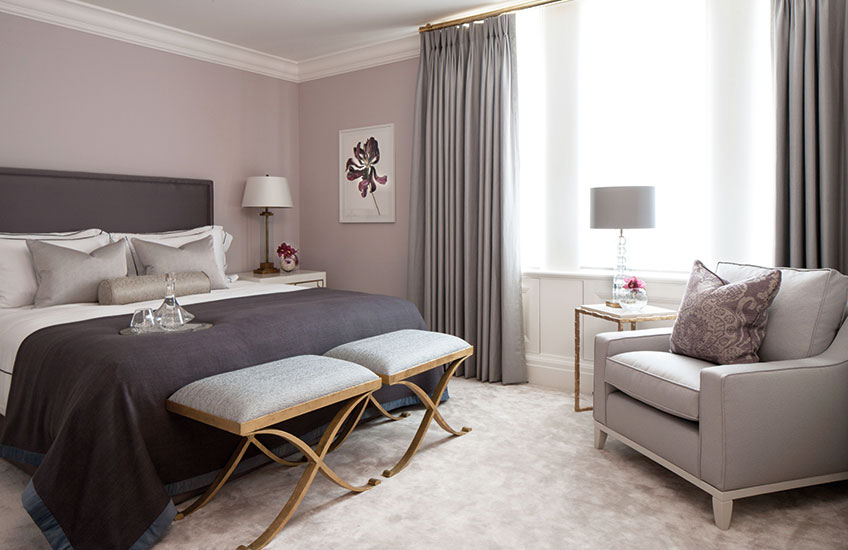 Color schemes of the bedrooms Luxdeco style guide NXFITYJ
