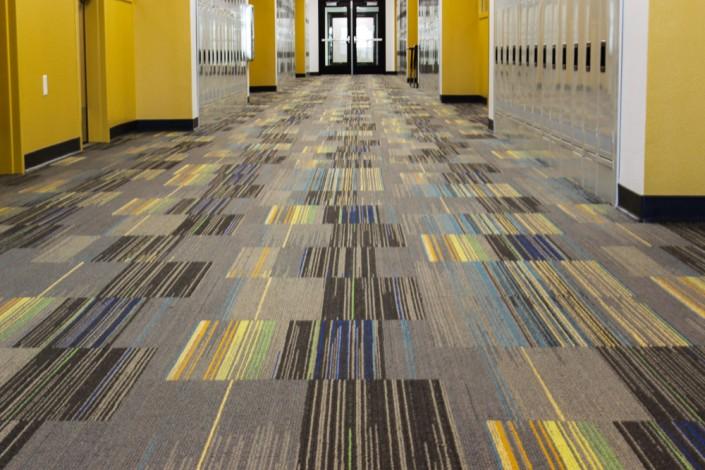 Commercial carpet tile DSUOLVE carpet tile