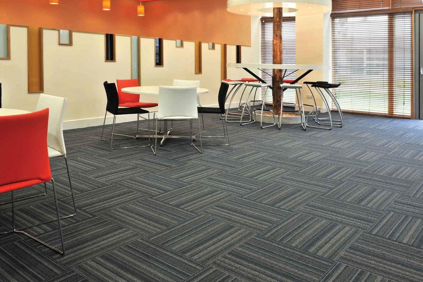 Commercial carpet tiles COWTOKA modular carpet tiles
