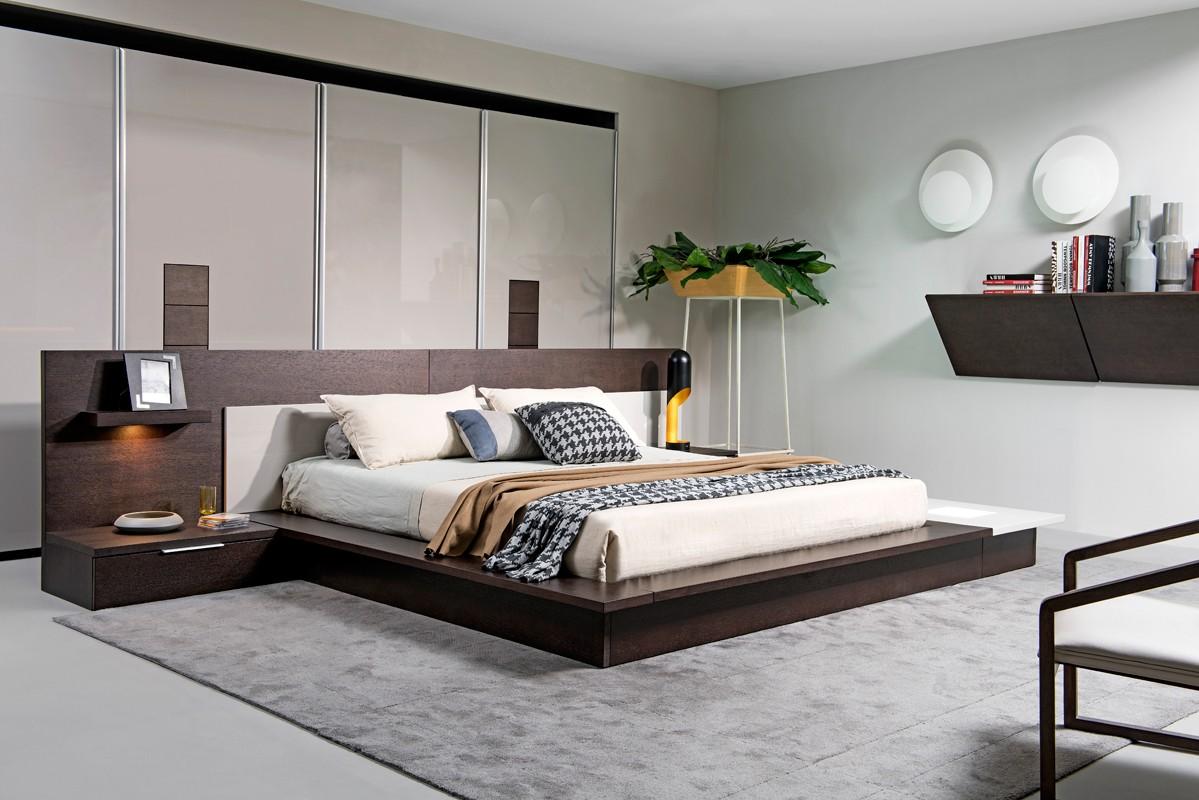 Modern bedroom furniture Modern youth room sets white leather bedroom suite modern leather bedroom EHRZCGI