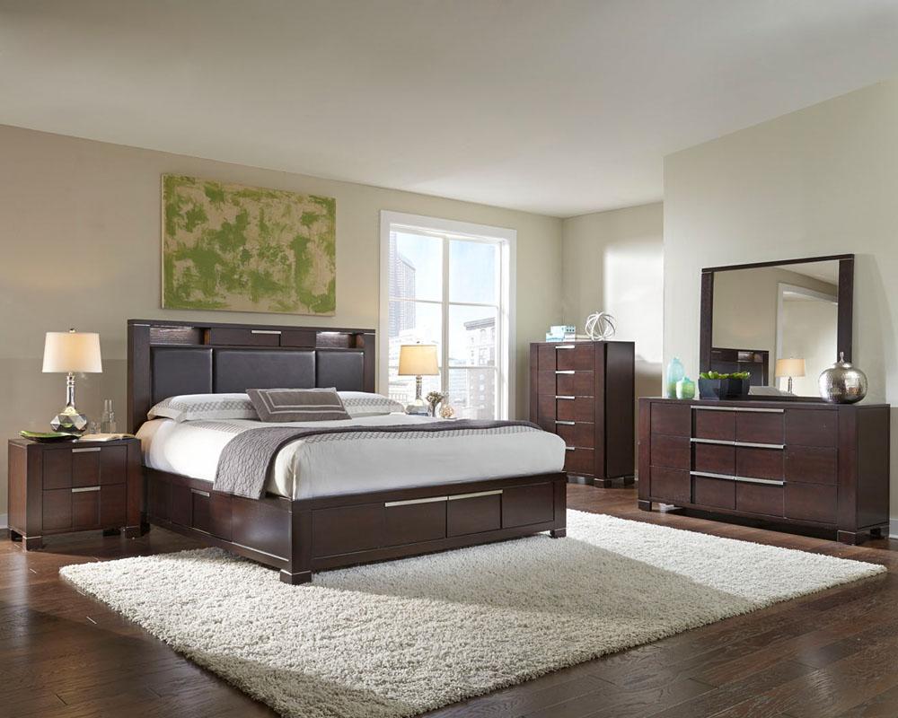 Modern bedroom furniture najarian furniture Modern bedroom furniture Studio na-stbset WSVNGKI