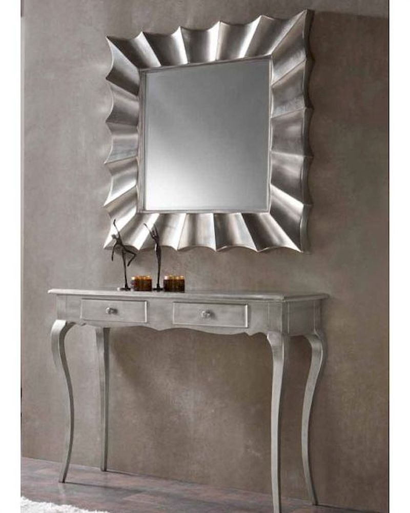 modern console table and mirror set 33c41 YTJETCY
