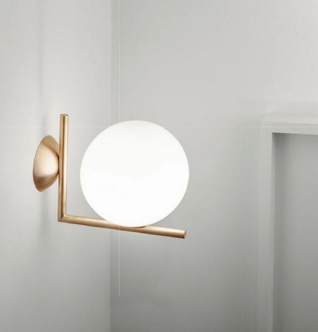 modern lighting best contemporary lighting u2026 lighting: 10 golden wall lights modern NCVSQFK