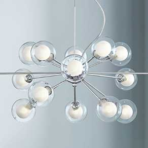 Chandelier for modern lighting PUCMUPD