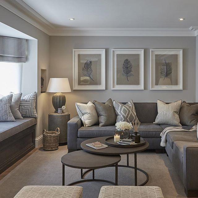 modern living room |  gray living room |  bocadolobo.com/ #contemporarydesign #contemporarydecor ROZMSOZ