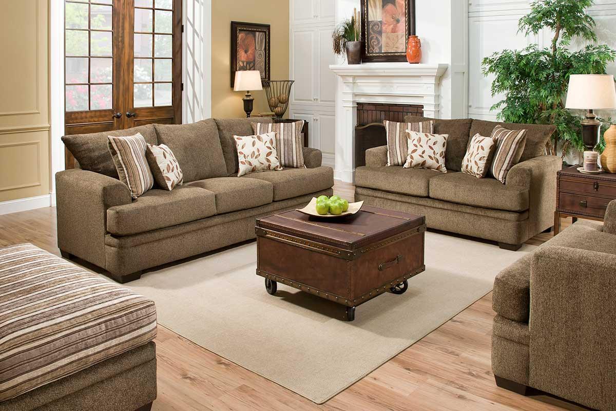 Cornell sofa set cocoa LUGVCOB