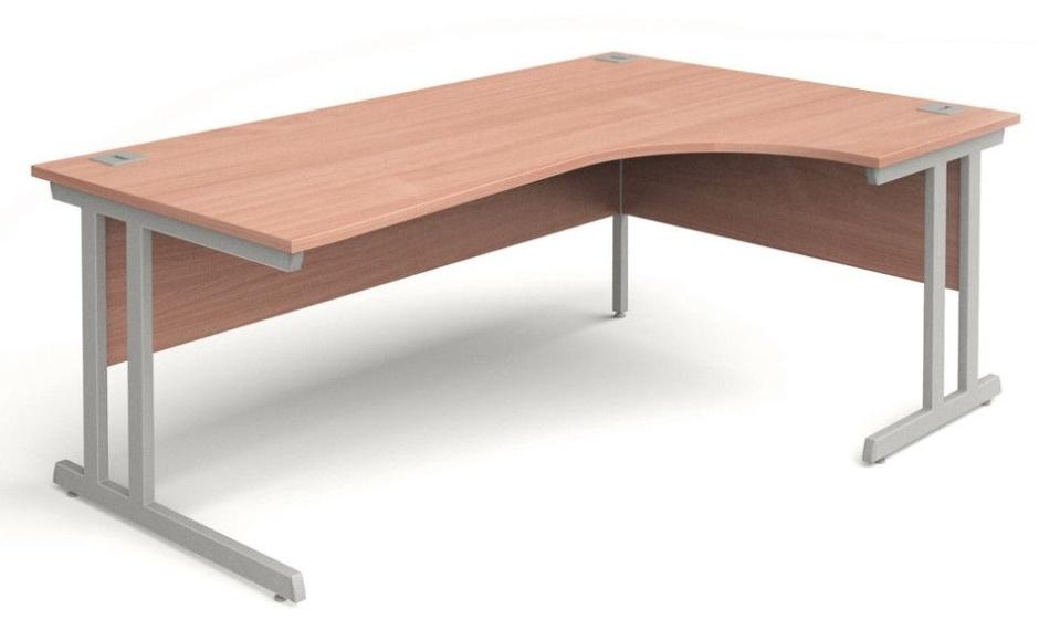 Corner desks ... trapido corner desk on the right in beech ... ASHBPKH