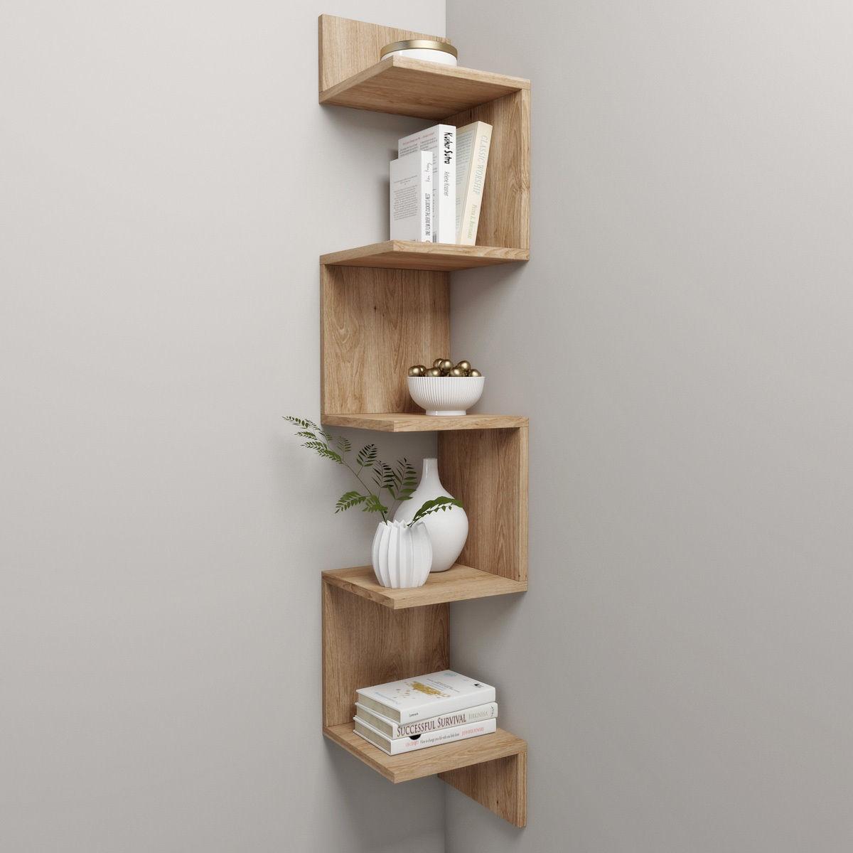 Corner shelf and decor 3D model max fbx 1 ... VNXIRFH