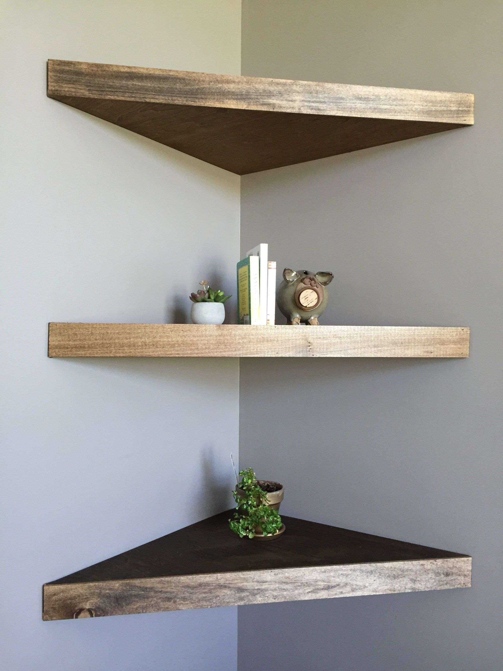Corner shelf DIY floating corner shelves MHJYDBI