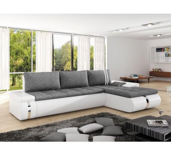 Corner sofa fado mini right white special offer BTLUMIR