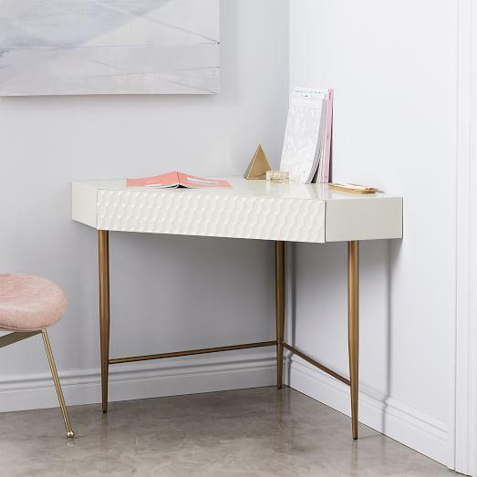 Corner table audrey corner desk JZBUBLK