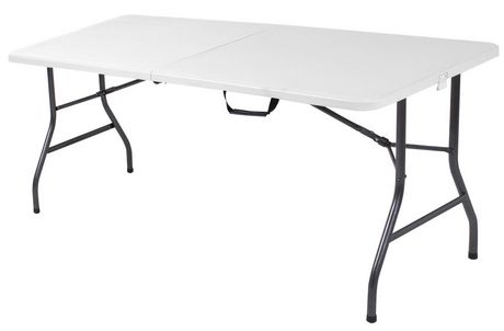 cosco 6 ft Centerfold folding table |  Walmart Canada ZCSKKED