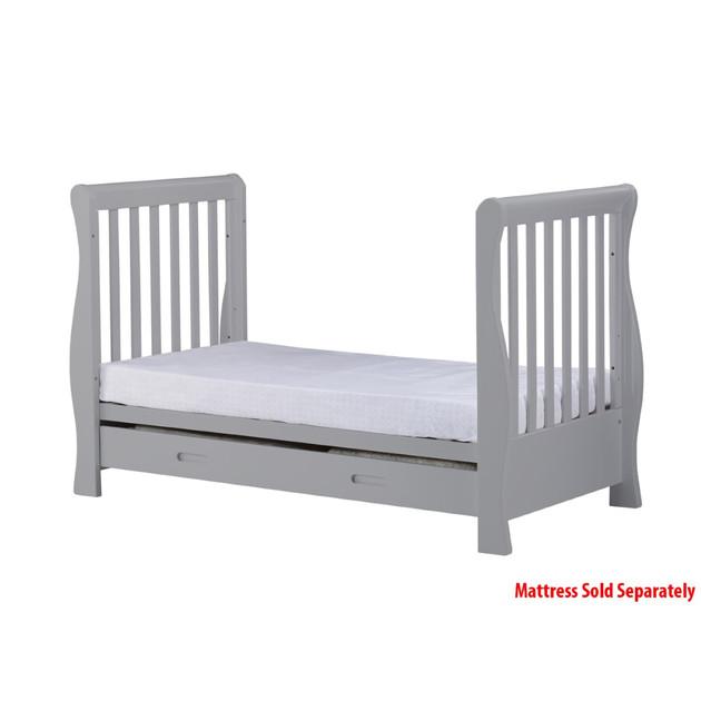 Children's bed ... infababy Royal sleigh bed - gray ... JKVULNL